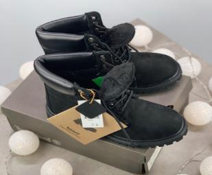 Timberland 6-Inch Premium Black Boots (1007309)