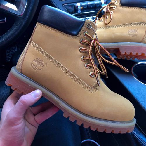 Timberland 6 inch Premium Yellow Boots