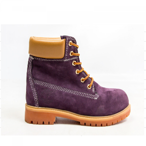 Timberland 6-Inch Vine Boots Orange Pad and Sole
