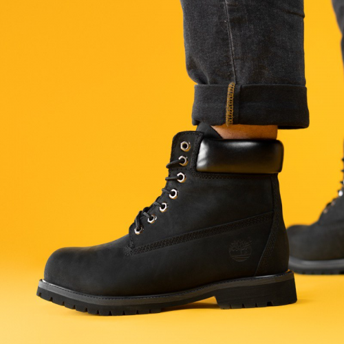 Timberland 6-Inch Classic Black Termo Boots
