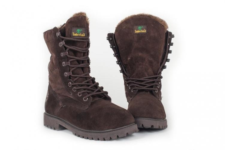 Timberland Jayne Waterproof Fleece Fold-Down Boots Fur (A1SGB838)