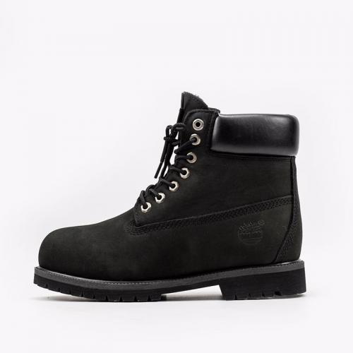 Timberland 6-Inch Fullblack Boots Fur