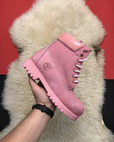 Timberland 6-Inch Pink Boots Fur (1065)