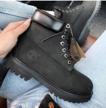 Timberland 6-Inch Premium Waterproof Black Boots (10073009-1)