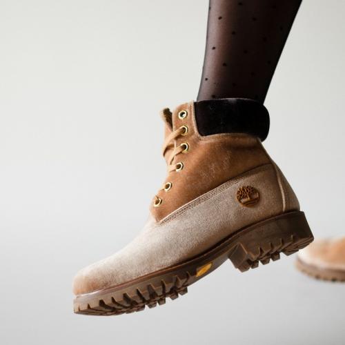 Тimberlad x Off-White Cream Termo Boots