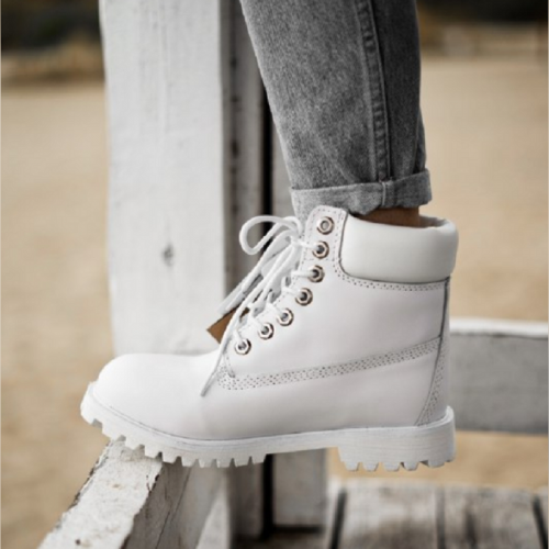 Timberland 6-Inch Termo White Boots