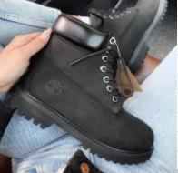Timberland 6 inch Premium Black Boots