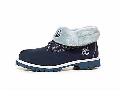 Timberland Roll-Top Azul Boots Fur (S6C019)