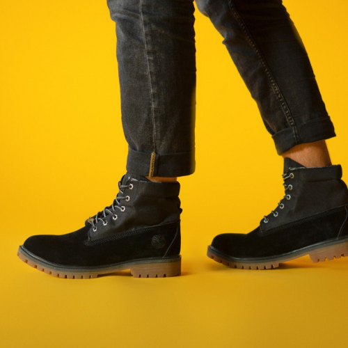 Timberland Military Black Termo Boots