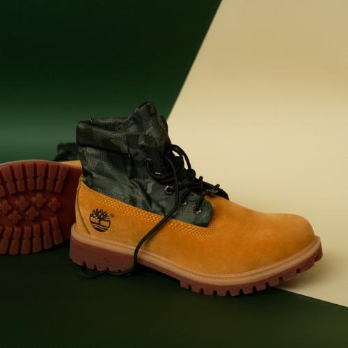 Timberland Military Yellow/Khaki Termo Boots