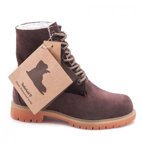 Timberland Jayne Waterproof Fleece Fold-Down Boots (A1SGJ605)