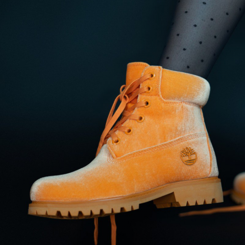 Timberland x Off-White Orange Termo Boots