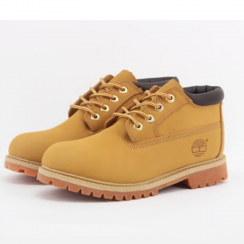 Timberland 4-Inch Mid Orange Boots