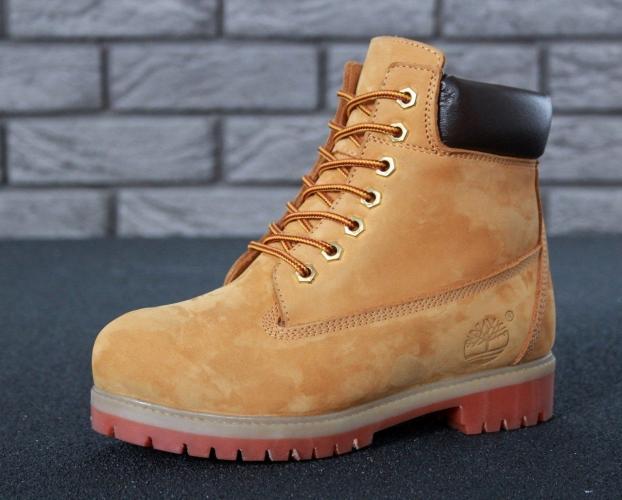 Timberland 6-Inch Premium Yellow Men Boots Fur (72066026-3)