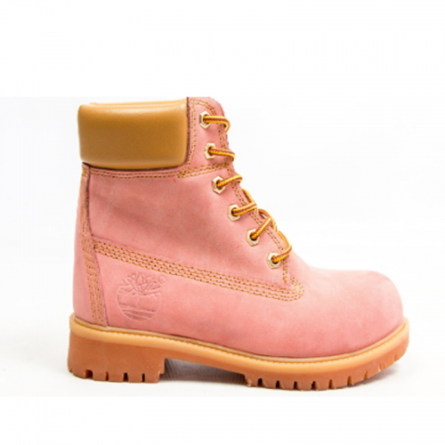 Timberland 6-Inch Dusk Boots Orange Pad and Sole