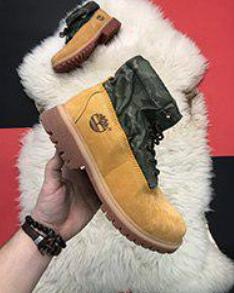 Timberland Authentics Custom Fold-Down Boots (A113G)