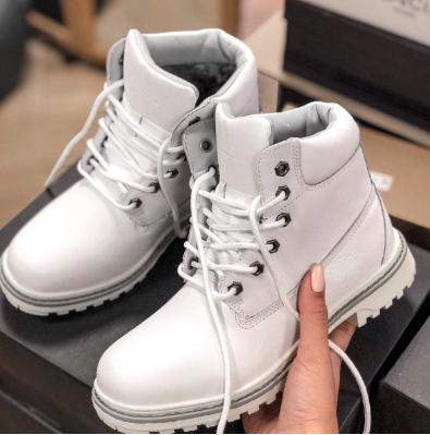Timberland Custom 6-Inch Standart White Boots (31181-7)