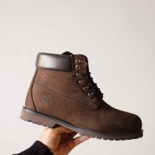 Timberland 6-Inch Full Brown Boots Fur