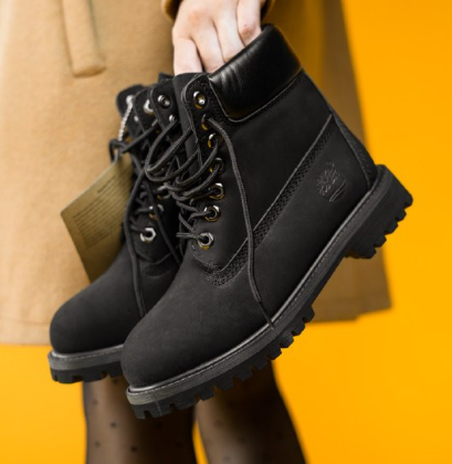 Timberland 6-Inch Basic Black Waterproof Termo (67558)