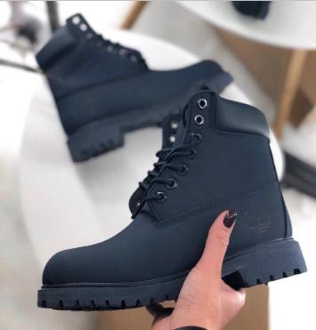 Timberland Custom 6-Inch Dark Blue Boots (7051)