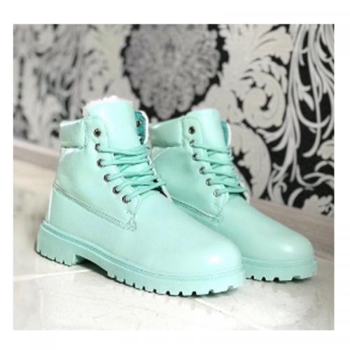Timberland 6-Inch Light Green Boots
