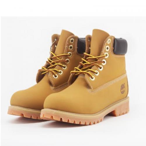 Timberland 6-Inch Classic Orange Boots