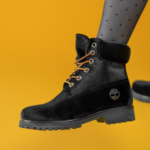 Timberland x Off-White Black Termo Boots