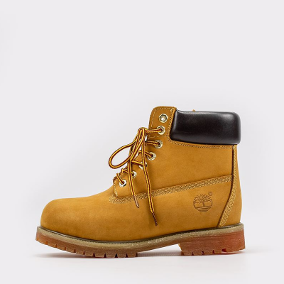 Timberland 6-Inch Orange Boots Fur