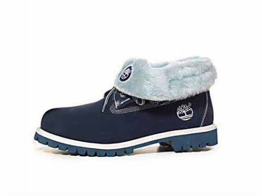 Timberland Roll-Top Azul Boots Fur (S6C019)