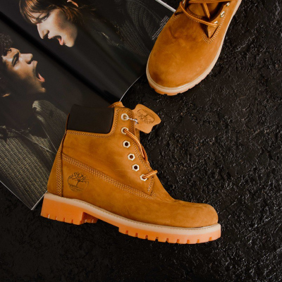 Timberland 6-Inch Ginger Fur Boots