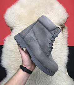 Timberland 6-Inch Grey Boots Fur (42386-2)