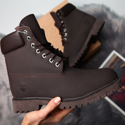 Timberland 6-Inch Brown Boots
