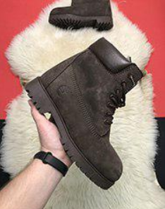 Timberland 6-Inch Brown Boots Fur (1063)