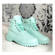 Timberland 6-Inch Light Green Boots